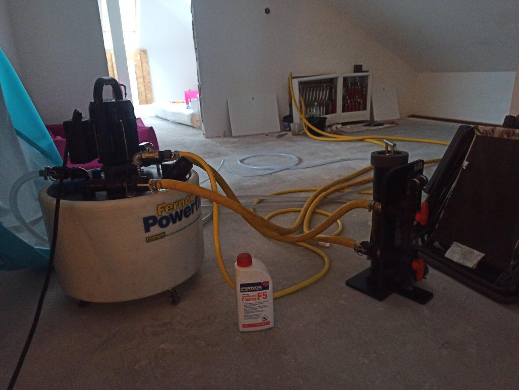 Płukanie instalacji ogrzewania podłogowego kraków